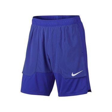 Nike Court Dry Basic Tennis Short - Paramount Blue
