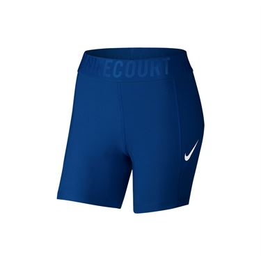 Nike Court Power Tennis Shorts - Blue Jay