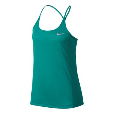 Nike Dry Miler Running Tank - Turbo Green