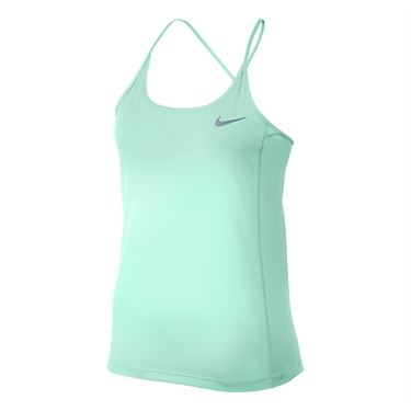 Nike Dry Miler Running Tank - Igloo