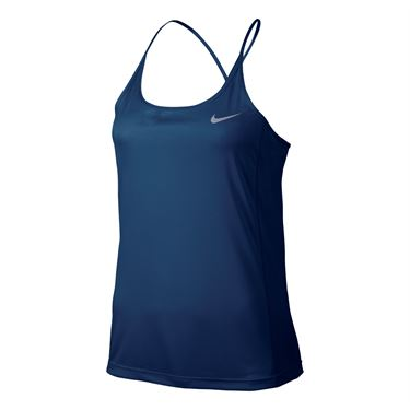 Nike Dry Miler Running Tank - Binary Blue