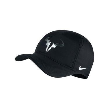 Nike Rafa Iridescent Featherlight Hat-  Black