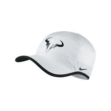 Nike Rafa Iridescent Featherlight Hat - White/Black