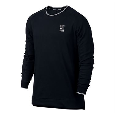 Nike Baseline Long Sleeve Crew - Black