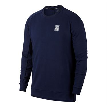 Nike Baseline Long Sleeve Crew - Binary Blue