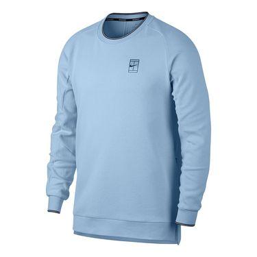 Nike Baseline Long Sleeve Crew - Hydrogen Blue
