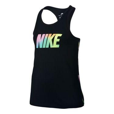 Nike Girls Sportswear Racerback Tank - Black