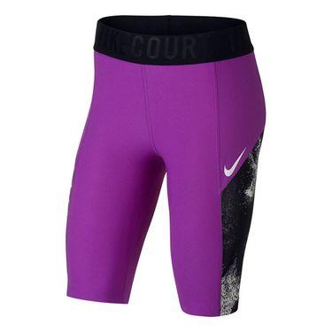 Nike Court Power Compression Short - Vivid Purple