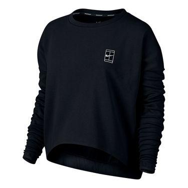 Nike Baseline Long Sleeve Top - Black