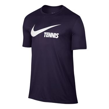 Nike Swoosh Tennis Tee - Purple Dynasty