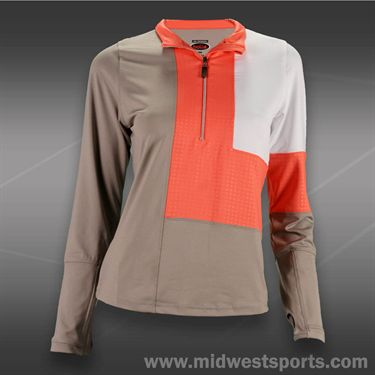 Bolle Wild Fire Longsleeve 1/2 Zip - Taupe