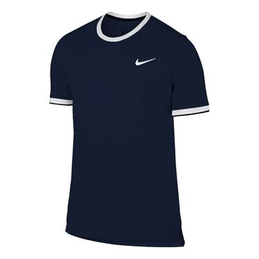 Nike Dry Team Crew - Navy Blue
