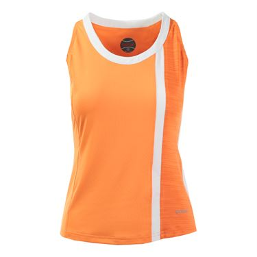 Bolle Gabriella Scoop Neck Tank - Orange