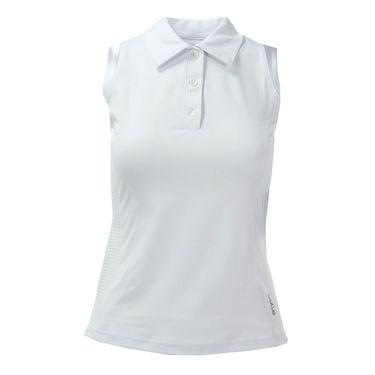 Bolle Bianca Sleeveless Polo - White