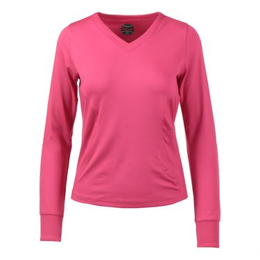 Bolle Isabella Long Sleeve Top - Fuchsia