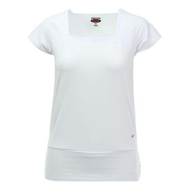 Bolle Club Whites Cap Sleeve Top - White