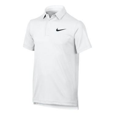 Nike Boys Dry Polo - White