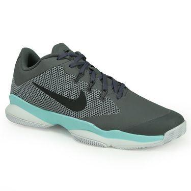 Nike Air Zoom Ultra Mens Tennis Shoe - Dark Grey/Black/Aurora Green/Wolf Grey