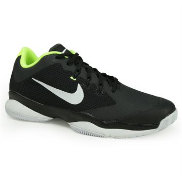 Nike Air Zoom Ultra Mens Tennis Shoe - Black/White/Volt