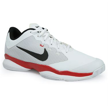 Nike Air Zoom Ultra Mens Tennis Shoe - White/Black/University Red