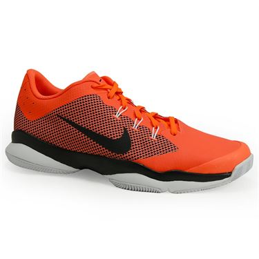Nike Air Zoom Ultra Mens Tennis Shoe - Hyper Orange/Black/White