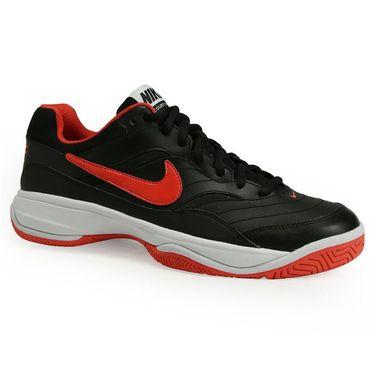 Nike Court Lite Mens Tennis Shoe - Black/Max Orange/White