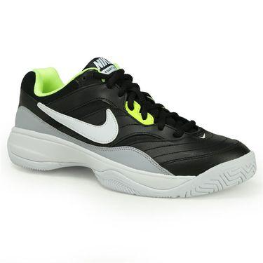Nike Court Lite Mens Tennis Shoe - Black/White/Wolf Grey/Volt