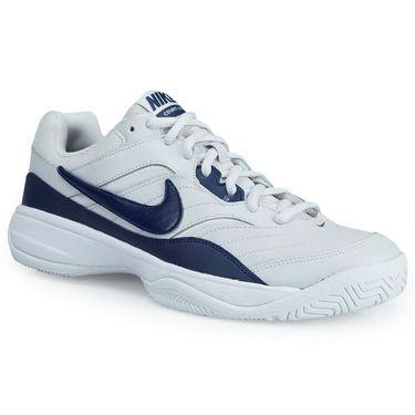 Nike Court Lite Mens Tennis Shoe - Grey/Navy/White