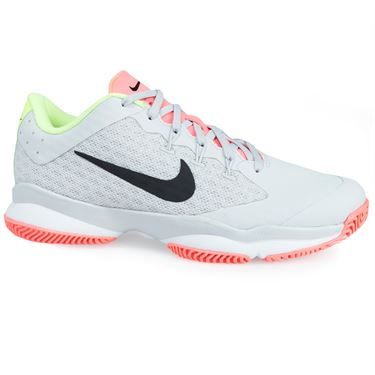 Nike Air Zoom Ultra Womens Tennis Shoe - Grey/Black/White/Volt Glow