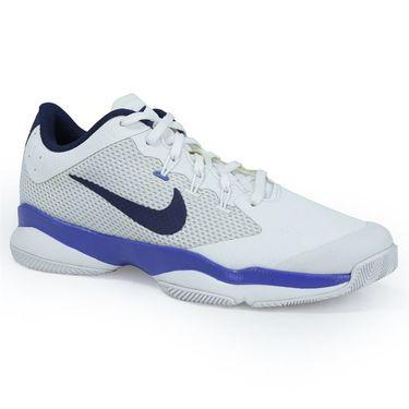 Nike Air Zoom Ultra Womens Tennis Shoe - White/Binary Blue/Mega Blue