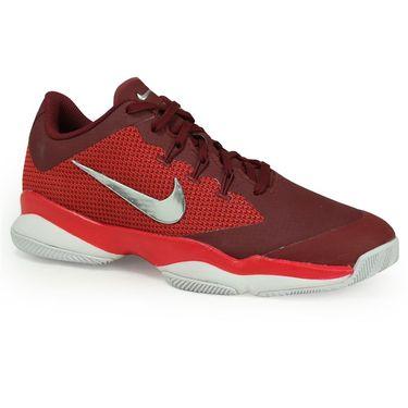 Nike Air Zoom Ultra Womens Tennis Shoe - Team Red/Metallic Silver/Siren Red/White