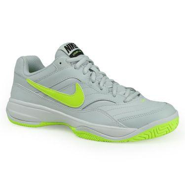 Nike Court Lite Womens Tennis Shoe - Pure Platinum/Volt/Black