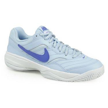 Nike Court Lite Womens Tennis Shoe - Ice Blue/Comet Blue/White