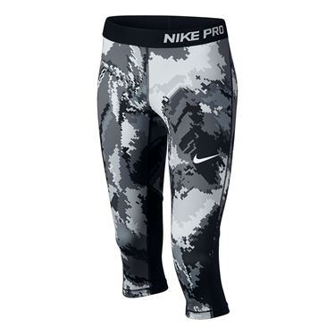 Nike Girls Pro Cool Capri - Black