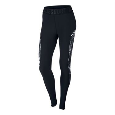 Nike Court Power Tight - Black