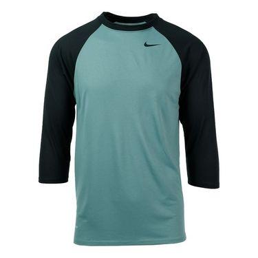 Nike Legend 3/4 Raglan Tee - Cannon/Seaweed