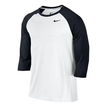 Nike Legend 3/4 Raglan Tee - White