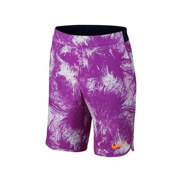 Nike Boys Flex Ace Tennis Short - Vivid Purple