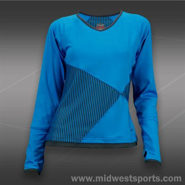 Bolle True Colors Long Sleeve Top-Blue