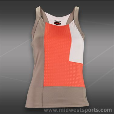 Bolle Wild Fire Racerback Tank - Taupe