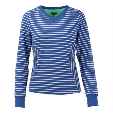 Bolle Francesca Long Sleeve Top - Royal Heather