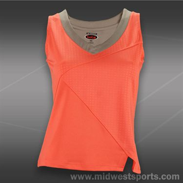 Bolle Wild Fire V Neck Tank - Coral