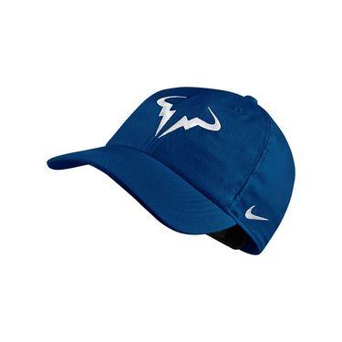 Nike Court AeroBill Rafa Tennis Hat - Blue Jay/White