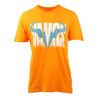 Nike Rafa Crew Tee - Vivid Orange/Blue Lagoon