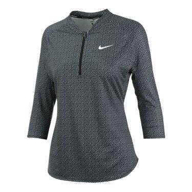 Nike Court 1/4 Zip - Black
