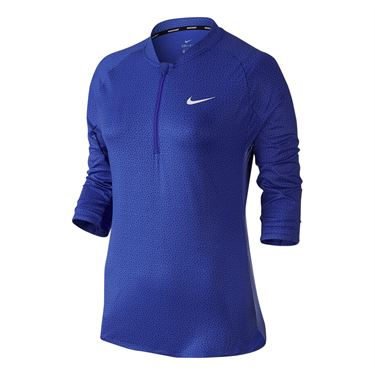 Nike Court 1/4 Zip - Paramount Blue