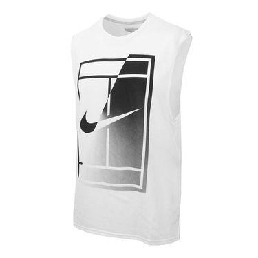 Nike Court Breathe Tank - White