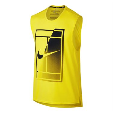Nike Court Breathe Tank - Sonic Yellow