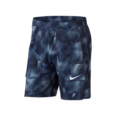 Nike Court Breathe Tennis Short - Midnight Navy