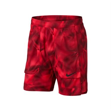 Nike Court Breathe Tennis Short - Action Red